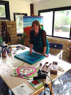artist in residence karin luciano