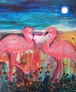 fandango flamingo.karin luciano. detail